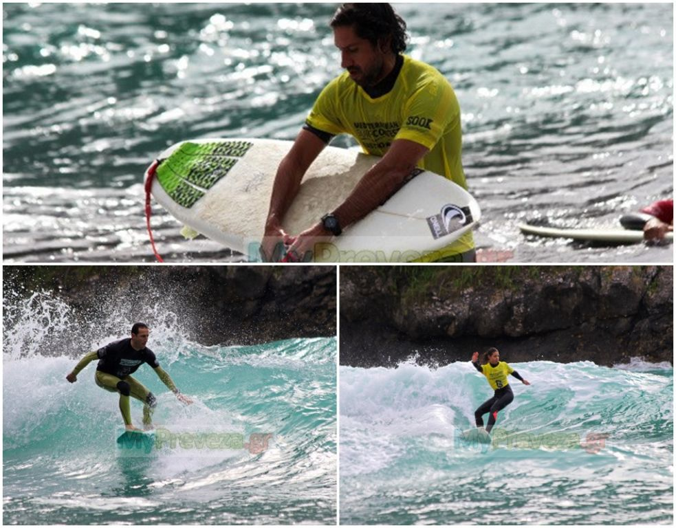 Πρέβεζα: Στην Πάργα οι τελικοί αγώνες του 2nd Mediterranean Surf Contest